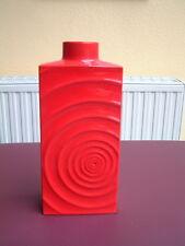 XXL Steuler Cari Zalloni Zyklon Vase in  rot Höhe: 40 cm