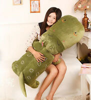 "47"" Cute Huge Madagascar Hippo Throw Pillow Softs Stuffed Plush Animal Toys Doll"