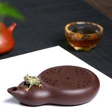 reservoir tea tray Real yixing zisha clay tea plate water draining tea pot mats
