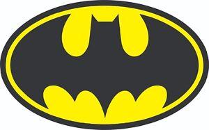 Batman Custom Sticker Vinyl Decal UV 140mm x 90mm