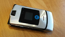 Motorola RAZR V3i silber / mit Folie / Klapphandy / ohne Simlock