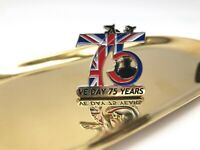 2020 VJ VE Day 75 Anniversary Victory In Europe Japan Enamel Pin Badge Brooch