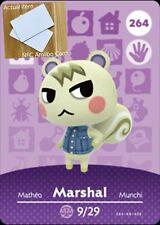 Marshal Amiibo NFC card! Animal Crossing: New Horizons! Fast Shipping!