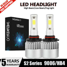 9006 LED Headlight Kit for GMC Sierra Savana 1500 2500 3500 Low Beam White Bulb