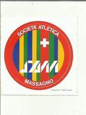 ADESIVO VINTAGE STICKER SOCIETA' ATLETICA MASSAGNO SAM