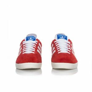 Size UK 7 - adidas Gazelle Vintage Red Suede
