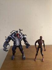 Marvel Legends Build A Figure Monster Venom & Spider-Man Loose Action Figures