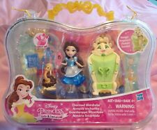 DISNEY PRINCESS LITTLE KINGDOM BELLE DOLL CHARMED WARDROBE TOY SET & CARRY CASE