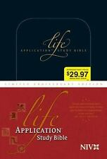 Life Application Study Bible NIV, Limited Anniversary Edition