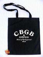 CBGB métro rock punk CBGBS coton Sac fourre-tout