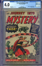 Journey Into Mystery #83 CGC 4.0 VG Universal CGC #0348302001