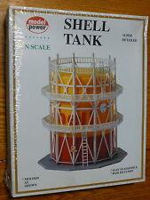 "Model Power N #1567 Building Kit -- Shell Gas Tank - 4-3/16 x 4-3/16 x 4-5/8"" 1"
