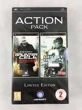 PSP Tom Clancy's Double Action Pack, UK Pal, Brand New & Factory Sealed