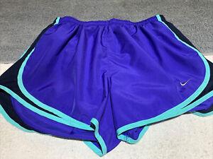 Nike Women's Heatgear Running Shorts loose fit Large