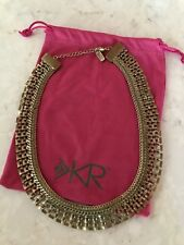 Silpada K & R Good As Gold Brass Collar Statement Necklace KRN0085