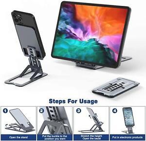 Adjustable Folding Mobile Phone Stand Holder Portable Compact Universal UK