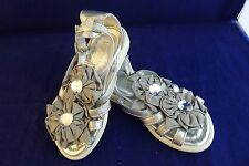 i pinco pallino silver colour sandals size EU 23, UK 6