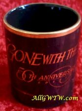 1989 Gone With the Wind 50th Anniversary Commemorative Mug Coffee Cup Free Ship!
