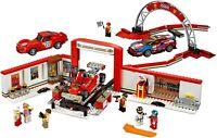 Lego Mega Bloks COMPATIBIL100% 75889 ☆ GARAGE FERRARI SPEED CHAMPS ☆◄ BULK BOX ►