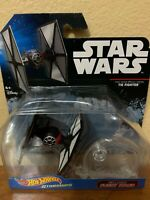 DISNEY HOT WHEELS STAR WARS STARSHIPS FIRST ORDER SPECIAL TIE FIGHTER W/ STAND