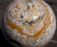 SWEET BULLSEYE ORBS OCEAN JASPER SPHERE MARBLE 64MM  2 1/2'' MADAGASCAR  8276