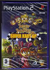 Myth Makers Super Kart GP (Sony PlayStation 2, 2007) - European Version
