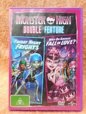 MONSTER HIGH DOUBLE FEATURE FRIDAY NIGHT FRIGHTS(WITH BOOKLET)(ANNIMATION)G R4
