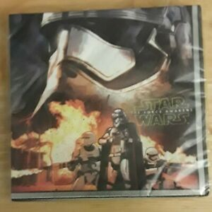 Star Wars The Force Awakens Birthday Napkins 16 count New in Package