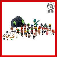 Playmobil Bundle Joblot Knight Dragon Soldier Pirates Figures Accessorise L6