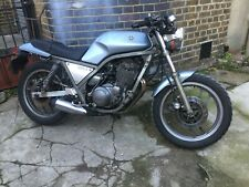 Classic 1985 Yamaha SRX 400 1JK Cafe Racer with super Rare Racing Exhaust option