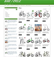 BIKE / CYCLE UK WEBSITE WITH ONE YEARS HOSTING + DOMAIN - EASY TO RUN AT HOME