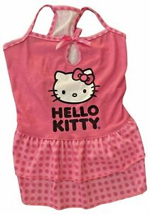 Hello Kitty Dress for Pets ~ Dog or Cat Outfit ~ Size Medium - Cute Pink Dress