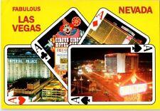 Dunes Hilton Circus Circus Imperial Palace Hotel Casino Las Vegas Neon postcard