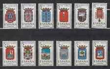 ESPAÑA (1963) MNH - NUEVO SIN FIJASELLOS - YT YVERT TELLIER 1151/56 + 1179/84