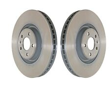 Set of 2x Front Brake Discs for Audi A6, A7, A8