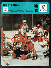 1979 Hockey 'Sportcaster', National Hockey League, Blackhawks' Dennis Hull...