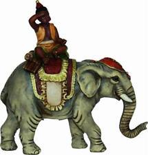 Nacimiento John Figuras Del Belén Elefante con Negro Apta Zu Figuras ca10cm