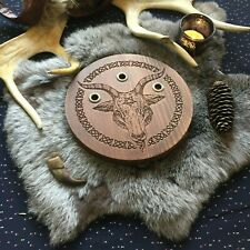 Baphomet altar / Witchcraft Satanism Ritual Divination Tools Witch Occultism
