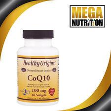 Healthy Origins Coenzyme Q10 Kaneka Q10 100mg 60 Softgels | Support Heart Health