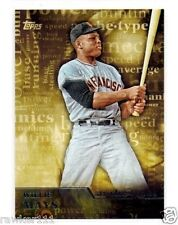 *2015 TOPPS WILLIE MAYS ARCHETYPES A-23 NM-MINT*