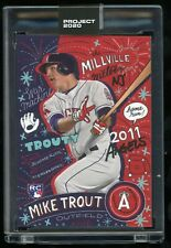 2020 Topps Project 2020 Mike Trout by Sophia Chang #142 In Hand 4
