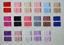 10 x BH-Erweiterung Verlängerung  2er Hacken Vergrößerung Schwangerschaft Farben