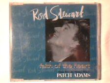 ROD STEWART Faith of the heart cd singolo cdm PATCH ADAMS COME NUOVO LIKE NEW!!!