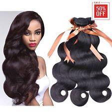 Allrun Hair Brazilian Body Wave 1pc 7A Unprocessed Human Hair Extensions Natural