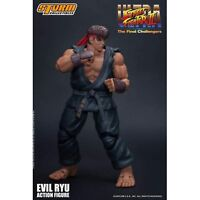 Storm Collectibles Street Fighter II Ultra Final Evil Ryu 7 Inch Action Figure