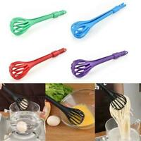 Multifunktionale 3 in 1 Egg Beater Drinks Schneebesen Mixer Food Clips L2Y7