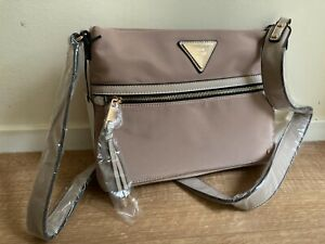RIVER ISLAND Beige cross cross body  messenger bag Cream new with tags