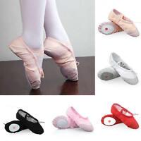 Kids Baby Girl Ballet Shoes Slipper Children Princess Flat Dance Shoes Dancewear