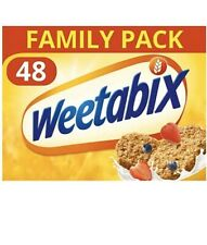 Weetabix Cereal 48 Family Pack ( 48 Biscuits )