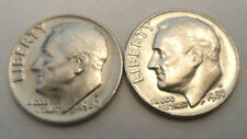 1980 P & D Roosevelt Dime Set (2 Coins)   **FREE SHIPPING**